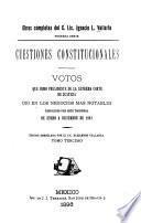 Cuestiones constitucionales