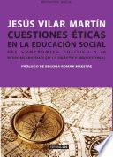 Cuestiones éticas en la educación social