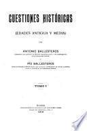Cuestiones históricas (edades antigua y media)