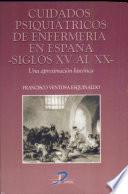 Cuidados psiquiátricos de enfermería en España