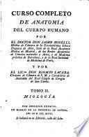 Curso Completo de Anatomía del Cuerpo Humano: Miología, 1797, [10], 316 p