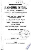 Curso completo de geografia universal antigua y moderna