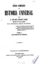 Curso completo de historia universal por José María Fernandez Sanchez