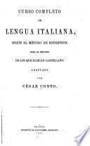 Curso completo de lengua italiana