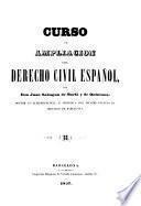 Curso de ampliación del Derecho civil español