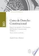 Curso de Derecho Constitucional. Tomo I