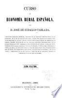 Curso de economia rural Espanola