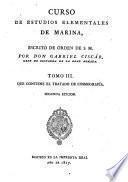 Curso de estudios elementales de marina