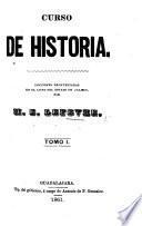 Curso de Historia. tom. 1