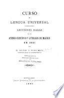 Curso de lengua universal