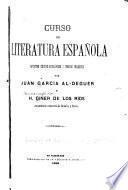Curso de literatura española