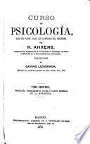 Curso de psicología, dado en París, bajo los auspicios del gobierno
