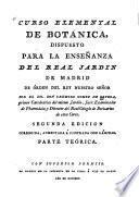 Curso elemental de botánica