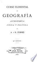 Curso elemental de geografía, astrónomica, física y pólitica