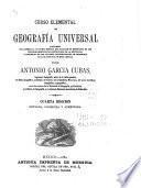 Curso elemental de geografía universal