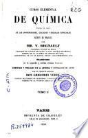 Curso elemental de química para el uso de las universidades, colegios y escuelas especiales