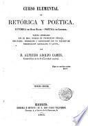 CURSO ELEMENTAL DE RETORICA Y POETICA