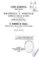 Curso elemental teórico-práctico de retórica y poética