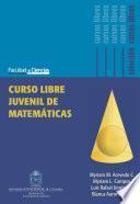 Curso libre juvenil de matemáticas