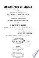 Curso práctico de latinidad