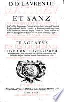 D.D. Laurentii Matthaeu et Sanz... Tractatus de re criminali siue controuersiarum vsufrequentium in causis criminalibus
