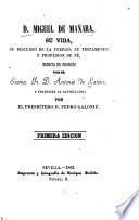 D. [i.e. Don] Miguel de Mañara