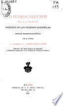 D. Pedro Calderón de La Barca, príncipe de los ingenios españoles