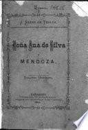 Da Ana de Silva y Mendoza