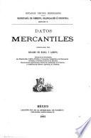 Datos mercantiles