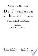 De Francesca a Beatrice a través de la Divina comedia
