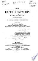 De la experimentacion fisiológica como prueba pericial en los casos de envenenamiento