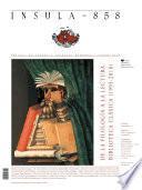 De la filología a la lectura: Biblioteca Clásica (Ínsula n° 858, junio de 2018)