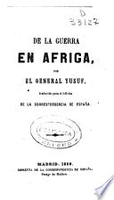 De la guerra en Africa
