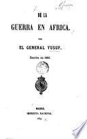 De la guerra en Africa por el General Yusuf
