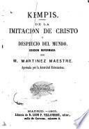 De la imitación de Cristo y desprecio del mundo