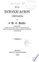 De la intoxicación urinaria