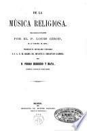 De la música religiosa