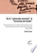 De la subversión marxista al terrorismo de estado
