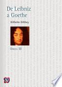 De Leibniz a Goethe