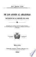 De los Andes al Amazonas