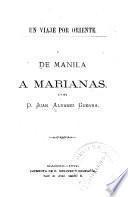 De Manila à Marianas
