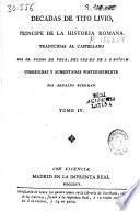 Decadas de Tito Livio, principe de la historia romana