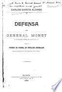 Defensa del general Monet