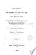 Defensa eclesiástica en el obispado de Michoacán desde fines de 1855 hasta principios de 1858 o sea Colección de representaciones y protestas, comunicaciones oficiales, circulares y decretos diocesanos ...