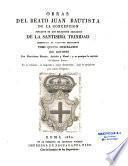 Del beato Juan Bautista de la Concepcion, fundador de los religiosos descalzos de la Santisima Trinidad, redencion de cautivos cristianos