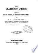 Del cólera-morbo epidémico