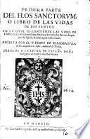Del Flos Sanctorum, O Libro De Las Vidas De Los Santos