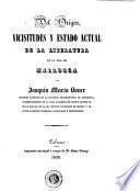 Del origen, vicisitudes y estado actual de la literatura en la isla de Mallorca