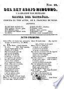 Del rey abajo ninguno y labrador mas honrado Garcia del Castañar