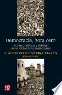 Democracia, hora cero